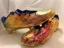 Adidas Adizero 5-Star 5.0 Low Football Cleats Metallic Gold AQ8176  Men's SZ 18