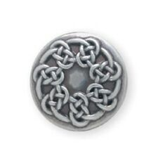 """1"""" Pictish Knot Celtic Concho - Screwback - Tandy Leather #11373-29"""