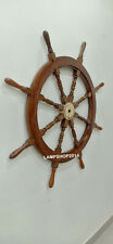 Nautical Brass Ship Wheel Classic Design Boat's Wheel 48 Inches