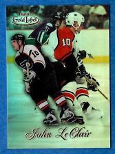 1998-99 Topps Gold Label Class 1 JOHN LeCLAIR (ex-mt) Philadelphia Flyers
