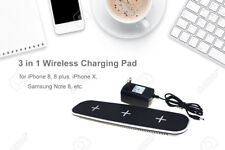 Qi Wireless Fast Charging 5-In-1 Charger Pad Station Stand for Galaxy S8+ Note 8