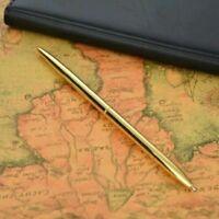 Metal Ballpoint Pen Gold Color Commerce Roller Pen Black Refill Ballpoint Pen