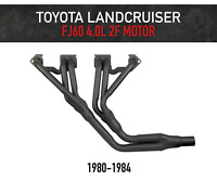 Headers / Extractors for Toyota Landcruiser FJ60 2F 4.0L Motor - Inside Chassis