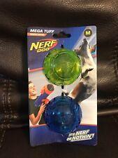 Nerf Dog Mega Tuff Medium Durable Rubber Interactive Pet Toy