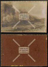 Orig. Foto 18x12cm 1. WK Explosion alles brennt