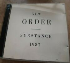 New Order - Substance 80s synth pop new wave (joy division) CD 2 inserts