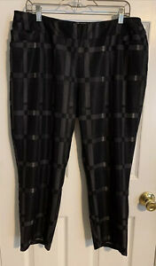 adidas Golf Women's Ultimate Adistar Printed Ankle Pant Size XL