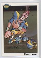 1991 Toon Ups All-Star Football Series 1 #20 Thor Luzer Non-Sports Card 0q3