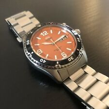 Orient Mako 1 Automatic Watch - Orange Dial(Discontinued Model)