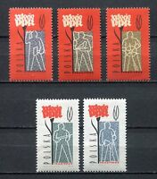 35689) Poland 1962 MNH Polish Workers' Party 5v