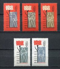 35689) POLAND 1962 MNH** Polish Workers' Party 5v