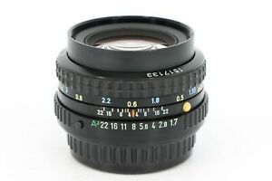 PENTAX SMC Pentax-A 50mm F/1.7 Professionally Tested - Faulty
