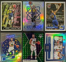 New ListingLot of (6) Stephen Curry, Including Crusade silver, Mosaic green & other inserts