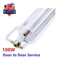 US Stock, EFR F4 100W CO2 Sealed Laser Tube 1450mmL for Laser Engraver
