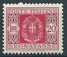 1934 REGNO SEGNATASSE 20 LIRE MNH ** - C5-4