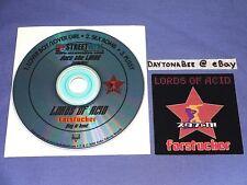Lords of Acid Farstucker Sampler CD & Sticker My Life With The Thrill Kill Kult