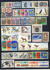 Europe stamp collection of mnh vf complete topical sets on 1 page
