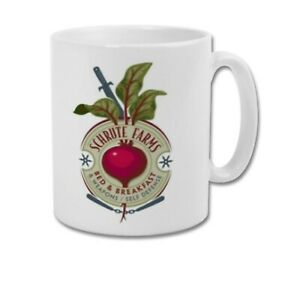 SCHRUTE FARMS Bed and Breakfast Dwight Schrute The Office US Coffee Mug Tea Cup