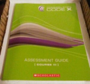 Common Core Code X Assessment Guide Course III Multiple Authors Free Shipping