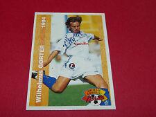 WILHELMUS GÖRTER STADE MALHERBE CAEN SMC FRANCE FOOTBALL CARD PANINI 1994