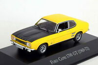Altaya 1/43 Scale  AL261119 - 1969-72 Ford Capri 1700 GT - Yellow/Black