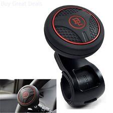 Black Platinum Power Handle Car Steering Wheel Suicide Spinner Accessory Knob