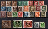 P135614/ BAYERN, OLD GERMANY – YEARS 1911 - 1916 USED SEMI MODERN LOT – CV 171 $