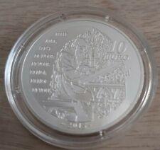 Pièce de 10 euros, FRANCE, 2015, Tristan et Yseult, sous capsule