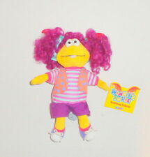 New Wimzies House Wimzie Plush Girl Purple Pig Tails Doll Eden Toys 1999 P72