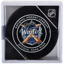 2018 NHL Winter Classic Official Game Puck New York Rangers vs Buffalo Sabres