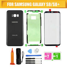 For Samsung Galaxy S8+ Front Screen Lens Glass Housing back battery door panel