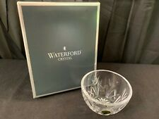 "Waterford ""THANK YOU"" Vanity Bowl / Dish w/Gift Box ~ 4"" x 2 1/2"" Deep"