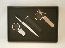 SMOKERS 4 PIECE GIFT SET IN BLACK