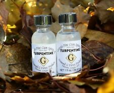 2 Bottles of 100% Pure Gum Spirits of Turpentine (Organic) by Diamond G Forest
