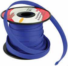 """New listing New Installation Solution Expandable Braided Sleeve Blue 1/4"""" Isbr6M100Bl"""