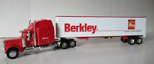BERKLEY FISHING  Peterbilt Semi Bank With Van Trailer By LIBERTY 1/64th