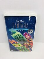 Fantasia 2000 VHS, 2000, Clamshell Case Disney Mickey Mouse Animated New Sealed