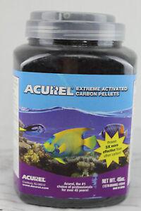 Acurel Extreme Activated Carbon Pellets for Aquariums Ponds 45 oz Fresh or Salt