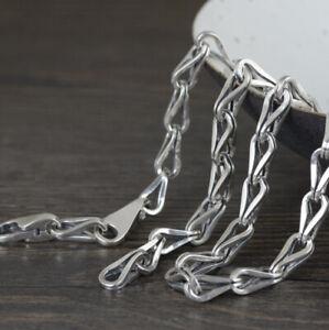 I05 Fantasiekette Drop Necklace Silver 925 Length 55 CM To 65 CM