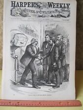 Vintage Print,PRECIOUS JEWEL OF HOME,Thomas Nast,Harpers,Political,Sep 1874
