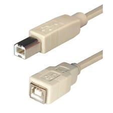 5m 2.0 USB Verlängerungskabel Verlängerung B Stecker auf Kupplung Buchse lange