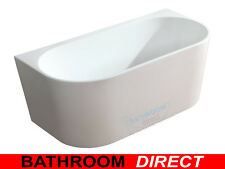 BDA NOVA 1700 Wall Faced Free Standing Bath Back To Wall Freestanding Bath Tub