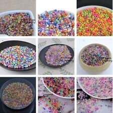 Lot 1000X 16g 2mm Round Loose Czech Glass Beads DIY Jewelry Making mix Colorful