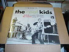 LP:  THE REAL KIDS - Kids 74 demos Real Kids 77 Demos NEW SEALED 32-page BOOKLET
