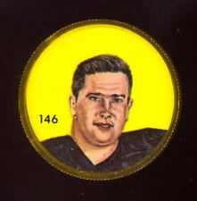 1963 CFL NALLEY'S FOOTBALL COIN #146 Tom Hinton NM B C LIONS Louisiana Polytec