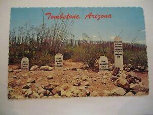 August 11, 1972 Postcard - Boothill Graveyard, Tombstone, Arizona