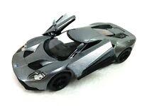 "New 5"" Kinsmart 2017 Ford GT 1:38 Scale Diecast Model Toy Car- GREY"