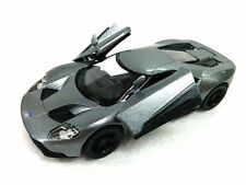 "New 5"" Kinsmart 2017 Ford GT 1:38 Scale Diecast Model Toy Car- GREY"