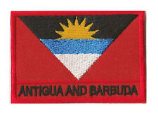 Patch insigne écusson coudre patche drapeau Antigua et Barbuda 70 x 45 mm