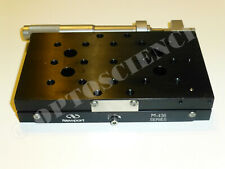 Newport M-436 Precision Linear Translation Stage with SM-50 Micrometer, Metric